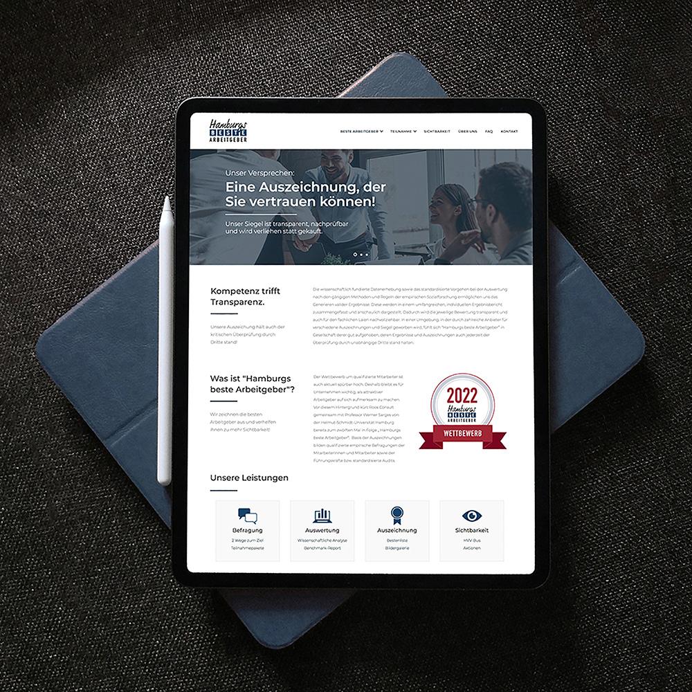 Hamburgs beste Arbeitgeber   Webdesign