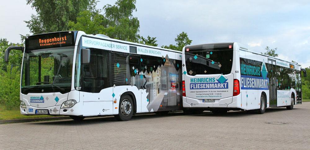 Heinrichs Fliesenmarkt   Linienbus