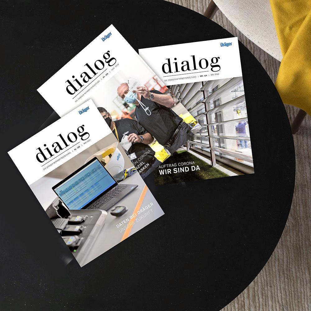 Drägerwerk AG   Mitarbeitermagazin
